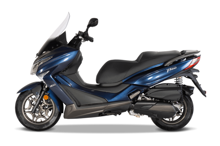 125 ccm Roller im Test: KYMCO X-TOWN 125i ABS - Roller