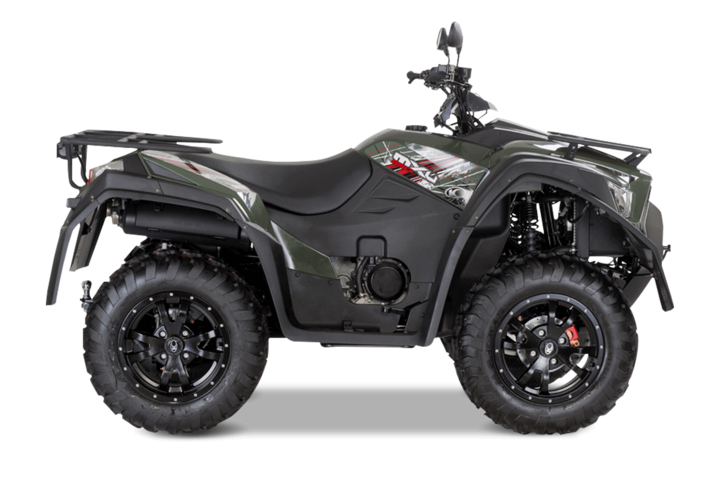 550ccm atv quad kymco mxu 550i lof. Black Bedroom Furniture Sets. Home Design Ideas