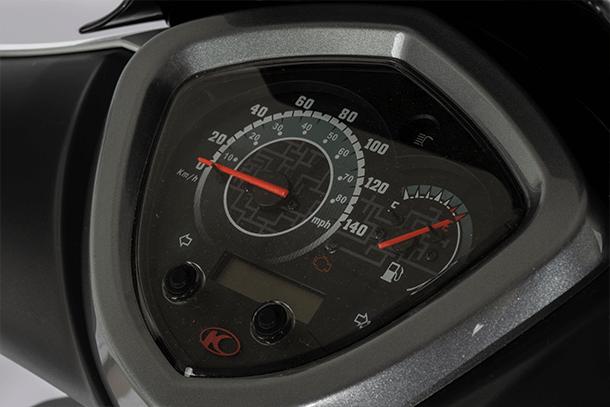 Motorroller 125ccm - KYMCO AGILITY CITY+ 125i CBS | Digitale Uhranzeige im Cockpit