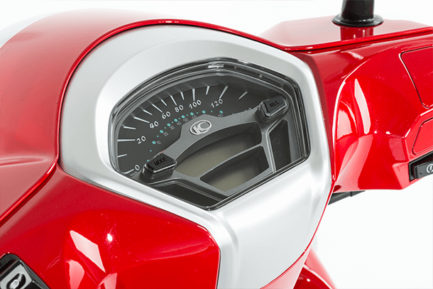 Motorroller 125ccm - Kymco Like II 125i CBS | Multifunktions-Cockpit