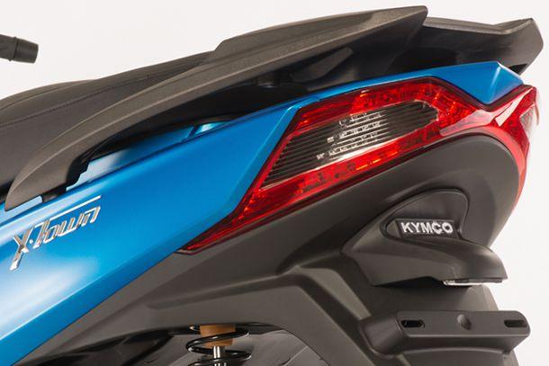 Motorroller 125ccm - Kymco X-TOWN 125i ABS | X-förmige LED Rückleuchte