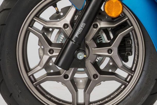 Motorroller 125ccm - Kymco X-TOWN 125i ABS | Alufelgen