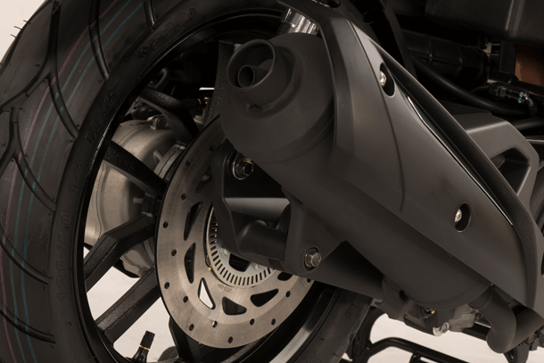 Motorroller 150ccm - Kymco New People S 150i ABS | Auspuffanlage