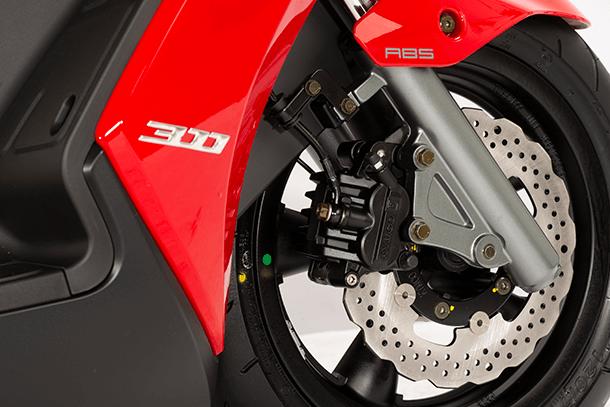 Motorroller 300ccm - Kymco GRAND DINK 300i ABS | Serienmäßiges ABS-Bremssystem