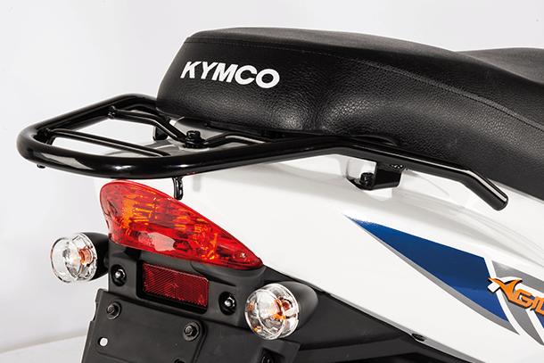 Motorroller 50ccm - Kymco Agility 50 4T | Gepäckträger
