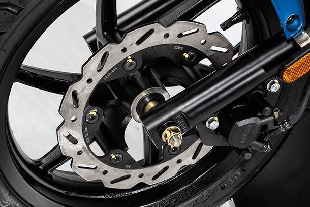 Motorroller 50ccm - Kymco Super 8 50i 4T | Bremsscheibe