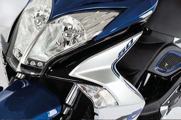 Motorroller 50ccm - Kymco Super 8 50i 4T | Scheinwerfer