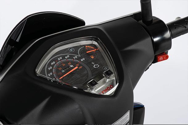 Motorroller 50ccm - Kymco Super 8 50i 4T | Cockpit